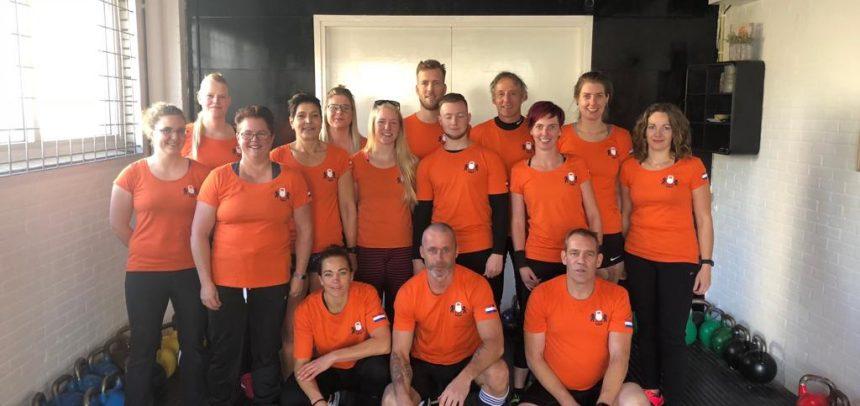 Nederlands team met 16 atleten naar het EK Kettlebell in Porto