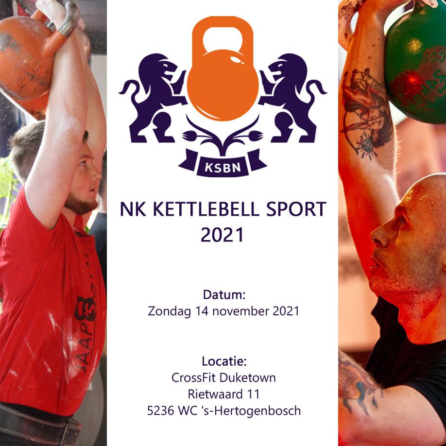Nederlands Kampioenschap Kettlebell Sport 2021